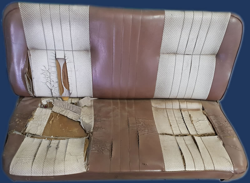 Bakkie Seats Before